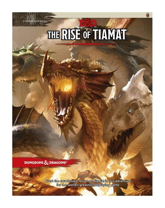 Dungeons & Dragons The Rise of Tiamat