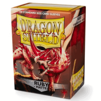 Dragon Shield Standard Sleeves Matte Ruby