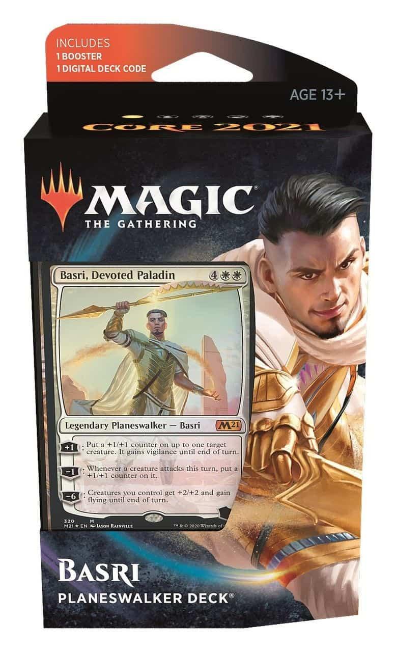 Magic Core 2021 Planeswalker Deck Basri