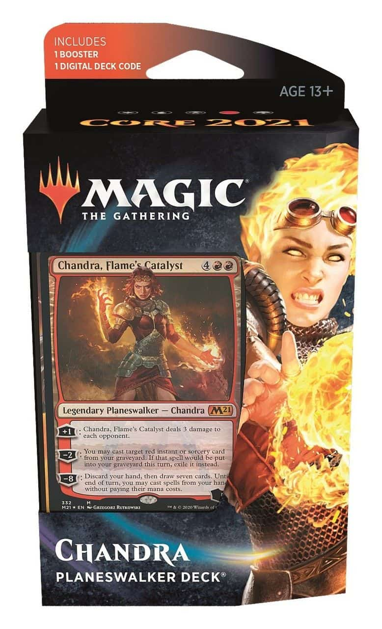 Magic Core 2021 Planeswalker Deck Chandra