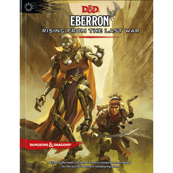 Dungeons & Dragons 5th Edition Eberron: Rising From the Last War Adventure Book