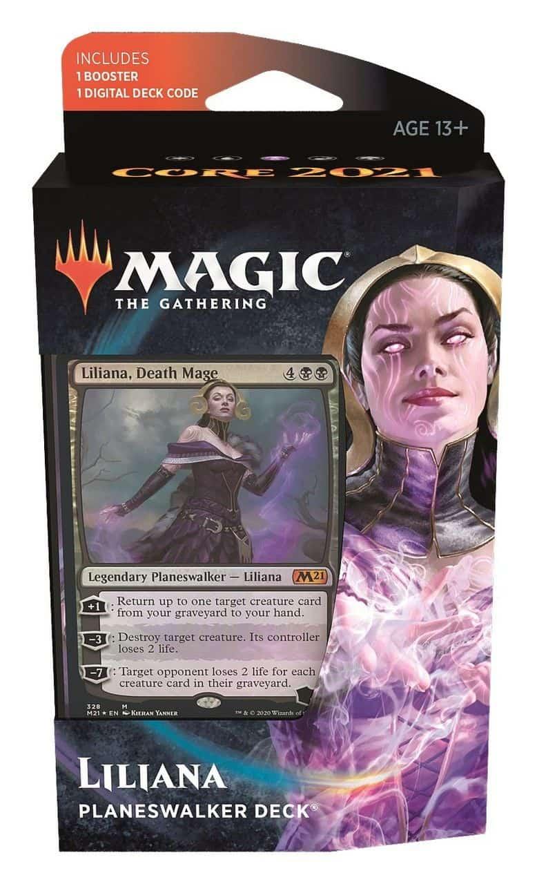 Magic Core 2021 Planeswalker Deck Liliana