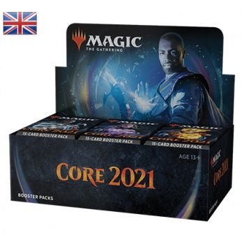 Magic Core 2021 Booster Display