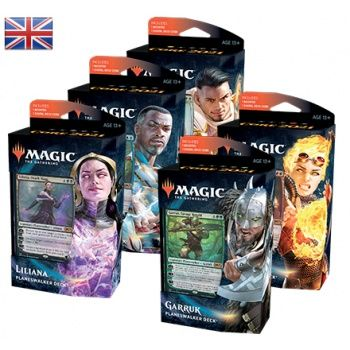 Magic Core 2021 Planeswalker Decks