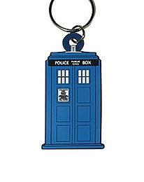 Doctor Who Tardis Nøglering