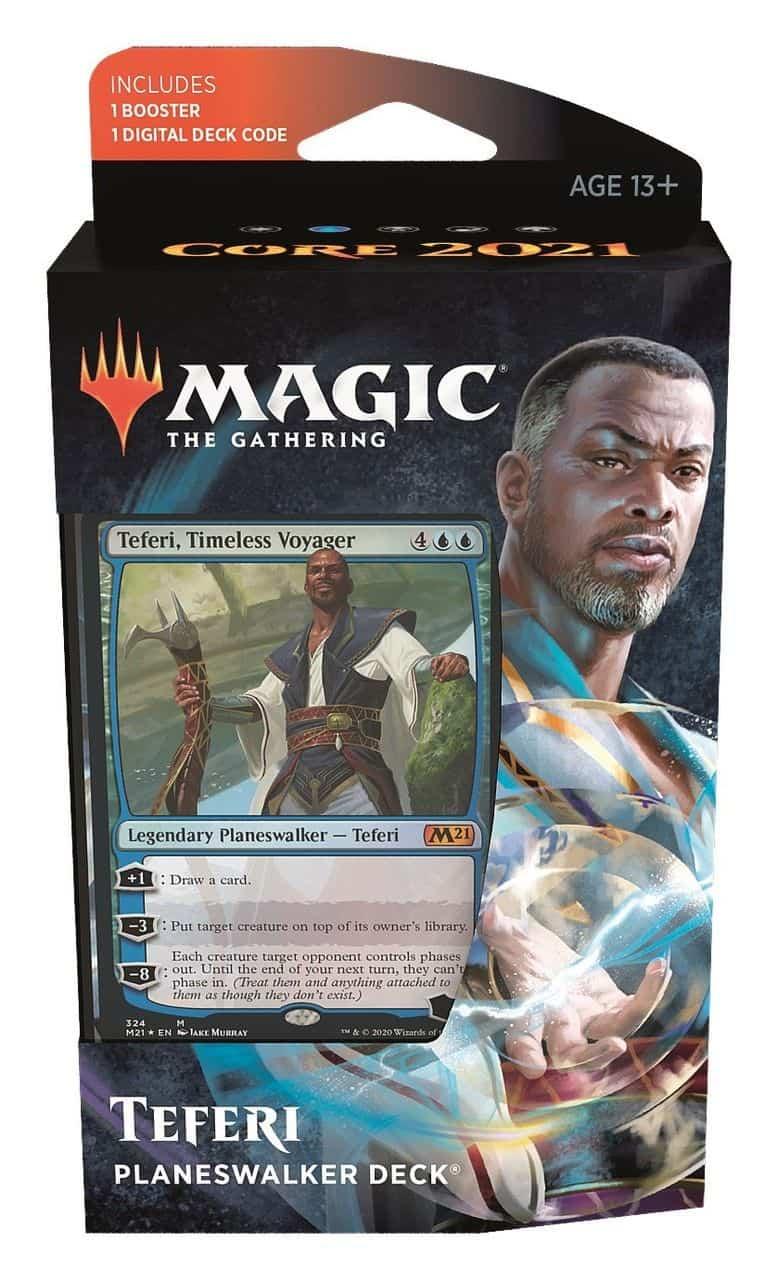 Magic Core 2021 Planeswalker Deck Teferi
