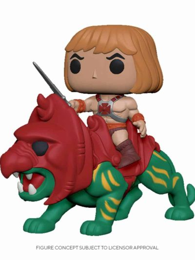 Funko Pop Masters of the Universe He-Man on Battle Cat
