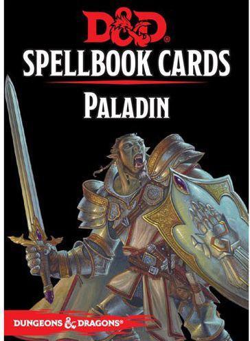 DnD Spellbook Cards Paladin