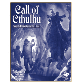 Call of Cthulhu 7th Edition Quick Start Guide