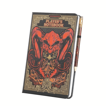 Dungeons & Dragons Player's Notebook