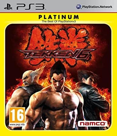 PS3 Tekken 6 Platinum