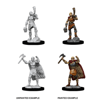 D&D Nolzur's Marvellous Miniatures - Female Human Barbarian