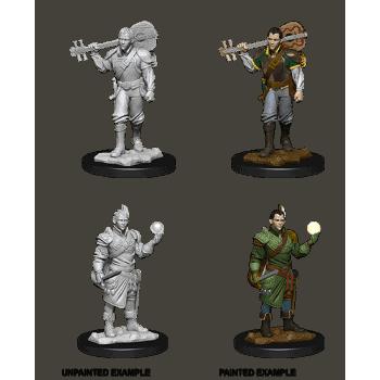 D&D Nolzur's Marvellous Miniatures - Male Half-Elf Bard