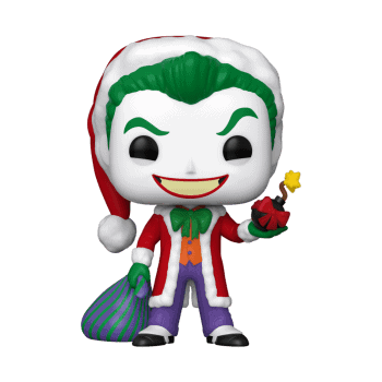 Funko Pop DC Holiday Santa Joker