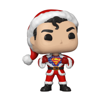 Funko Pop DC Holiday Superman Sweater