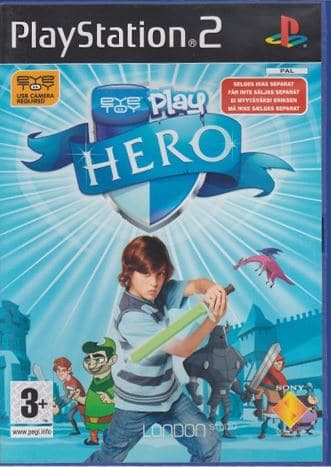PS2 EyeToy Play Hero