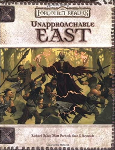D&D 3.0 - Forgotten Realms: Unapproachable East