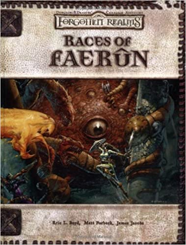 D&D 3.0 - Forgotten Realms: Races of Faerun