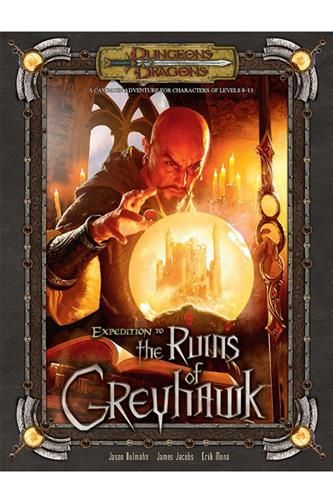 D&D 3.5 - Expedition to the Ruins of Greyhawk