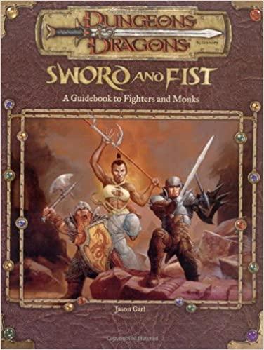 D&D 3.5 - Sword and Fist