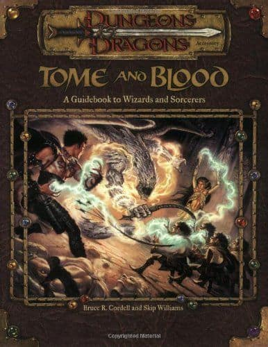 D&D 3.5 - Tome and Blood