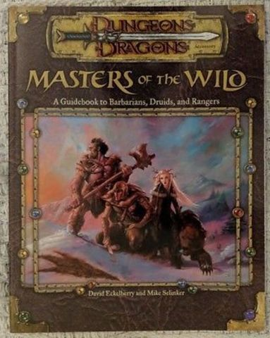 D&D 3.5 - Masters of the Wild