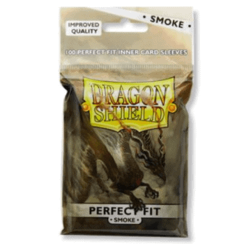 Dragon Shield Standard Size Inner Sleeves (Smoke/Clear)