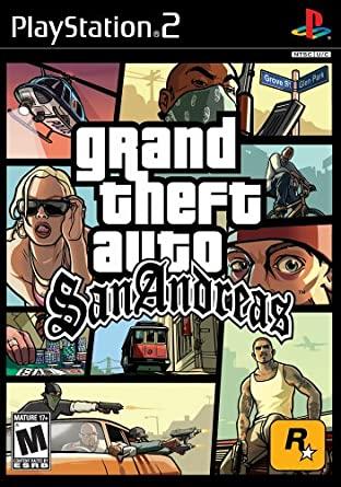 BRUGT - PS2 - Grand Theft Auto San Andreas