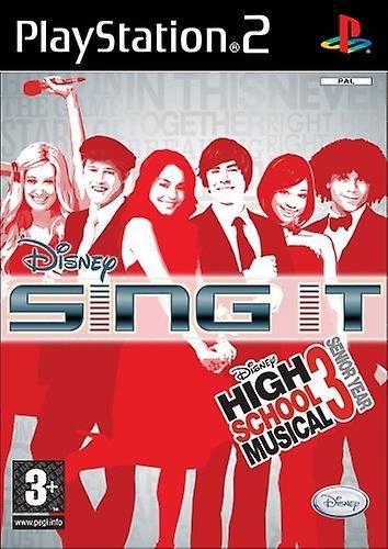 PS2 Disney Sing It High School Musical 3 Senior Year