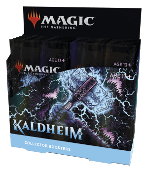 MTG Kaldheim Collector Booster Display