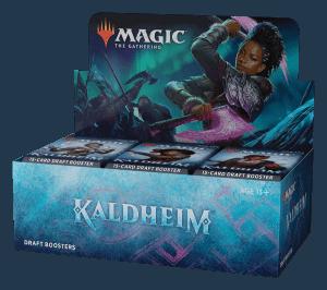 MTG Kaldheim Draft Booster Display