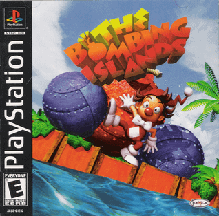 PS1 The Bombing Islands (Tysk Cover)